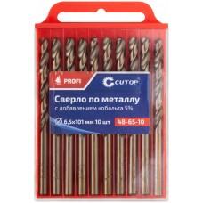 Сверло по металлу Cutop Profi с кобальтом 5%, 1,5х40 мм (10 шт)