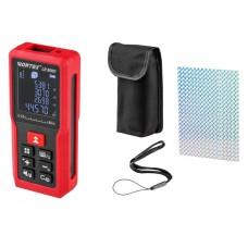 Дальномер лазерный WORTEX LR 8001 в кор. (0.05 - 80 м, +/- 2 мм/м,)