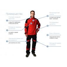 Костюм (куртка+брюки) Стингер р.56 рост 185-189 (р.56 рост 185-189, р-р аналогичен нашему  182-188) (Артекс)