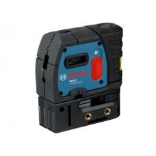 Нивелир лазерный точечный (отвес) BOSCH GPL 5 с держателем (проекция: 5 точек, до 30 м, +/- 0.30 мм/м, резьба 5/8
