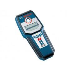 Детектор проводки BOSCH GMS 120 Prof в кор. (металл: 120 мм, дерево: 38 мм, проводка: 50 мм, IP 54)