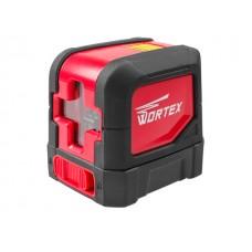 Нивелир лазерный WORTEX LL 0210 в кор. (проекция: крест с фиксацией, до 10 м, +/- 3 мм, резьба 1/4