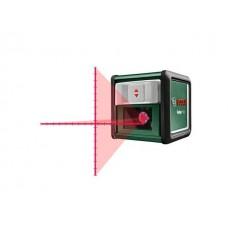 Нивелир лазерный BOSCH QUIGO PLUS со штативом в кор. (проекция: крест, до 7 м, +/- 5 мм, резьба 1/4