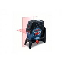 Нивелир лазерный BOSCH GCL 2-50 C с держателем в кор. (проекция: крест, до 50 м, +/- 0.30 мм/м, резьба 1/4
