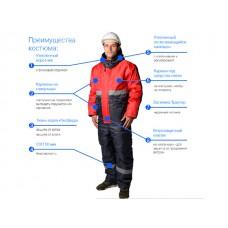 Костюм (куртка+п/к) утепленный