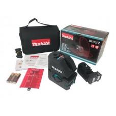 Нивелир лазерный линейный MAKITA SK 103 PZ с держателем в сумке (проекция: 2 плоскости 270°, 4 точки, до 15 м, +/- 0.30 мм/м, резьба 1/4
