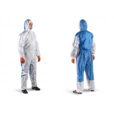 Защитный комбинезон JPC56 (р-р XXL), Jeta Safety (JPC56 - легкий комбинезон химической защиты из материала MF. На спине - спина из <дышащего> материал