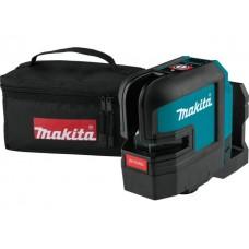 Нивелир лазерный MAKITA SK 105 DZ в сумке (проекция: крест, до 35 м, +/- 0.30 мм/м, резьба 1/4